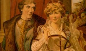 Hidden selves … Henry Irving and Ellen Terry.