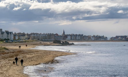 Milsey Bay, one of two stunning beaches in North Berwick