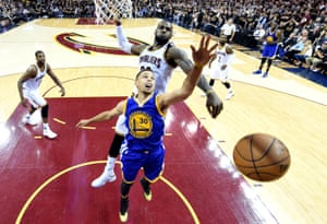 In the 2016 finals, the Cavaliers physically dominated Steph Curry. It became a blueprint for beating the Warriors