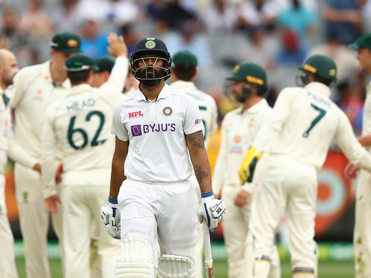 Australia V India Second Test Day Two As It Happened Sport The Guardian