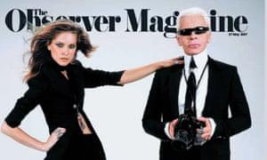 'I do my job like I breathe': Karl Lagerfeld on the Observer, 27 May, 2007.