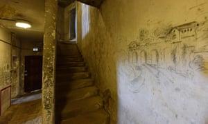 Graffiti on a wall at Richmond Castle