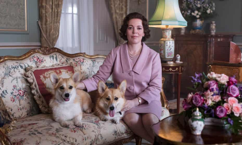 Olivia Colman as the Queen in series three of The Crown.
