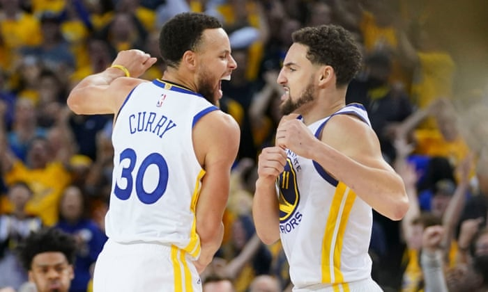 4d2c6e248767 Warriors beat Rockets for 3-2 NBA playoff series lead but suffer Durant  injury