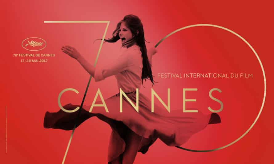 Claudia Cardinale features on the official poster for the 70th Cannes film festival.
