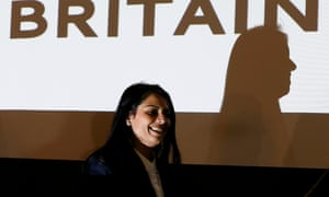 Priti Patel at the launch of Women for Britain