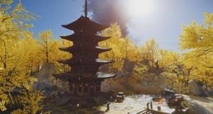 Belleza incomparable ... El bosque dorado de Japón.