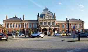 Norwich station.