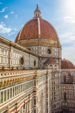 Brunelleschi's dome of Florence Cathedral: based on knowledge of Islamic construction techniques and the writings of a scientist in 11th-century Cairo.