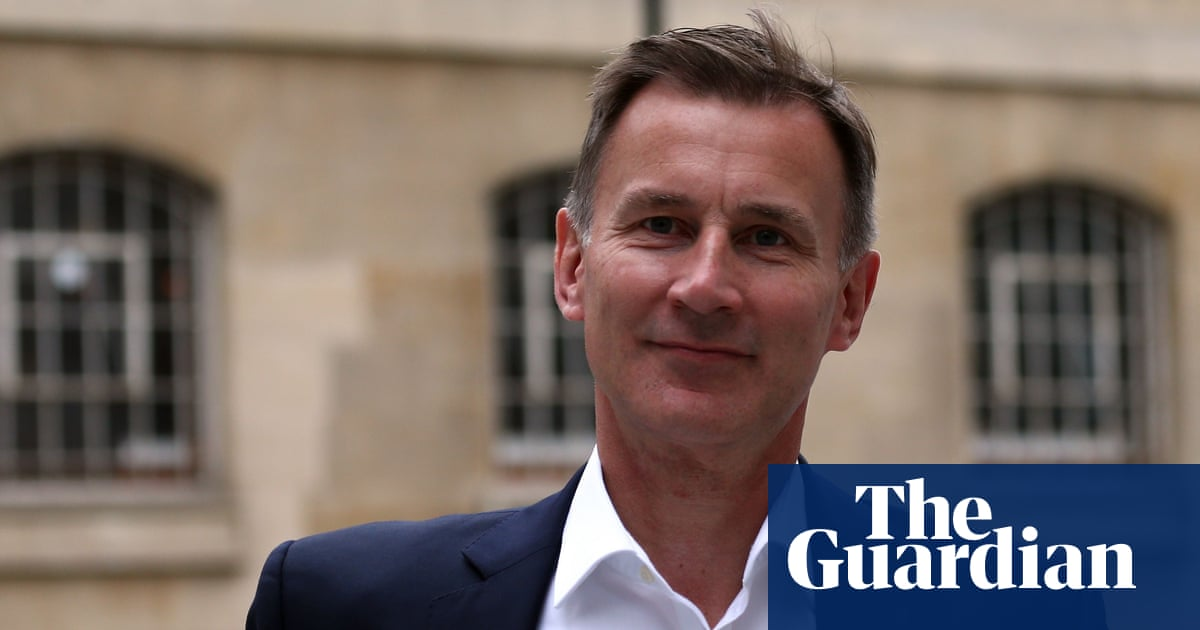 Increase taxes not national insurance to fund social care, says Jeremy Hunt