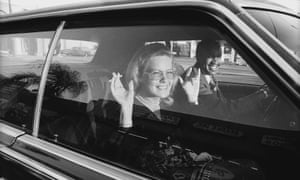 'People were more relaxed back then' … one of Mandel's car shots.
