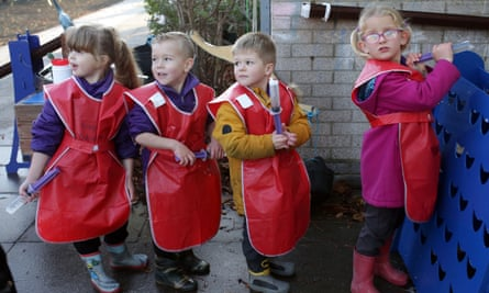 Reception pupils