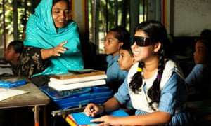 More girls with disabilities should get the opportunity to go to school