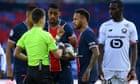 European roundup: Neymar sees red as Lille beat PSG while Bayern sink Leipzig