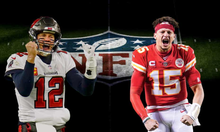 Tampa Bay Buccaneers' Tom Brady (left) and Kansas City Chiefs' Patrick Mahomes will be facing off on Sunday at Super Bowl LV.