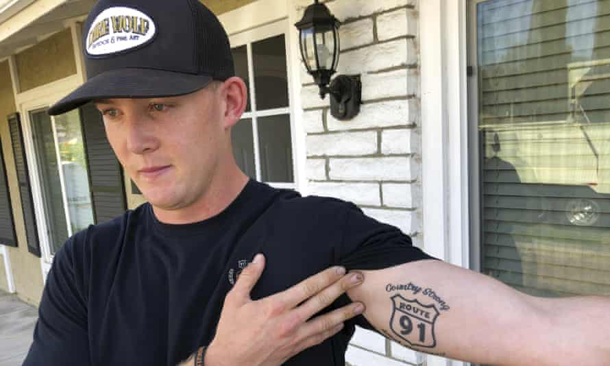 Brendan Kelly, a marine who was at Borderline Bar and Grill on Wednesday night, also survived the Las Vegas Route 91 Harvest Festival shooting in 2017.
