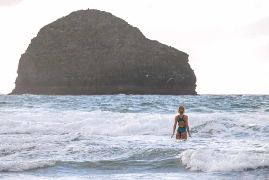 Joya Burrow, The Right to Roam Films Shot for Finisterre, at Kudhva and Trebarwith Strand
