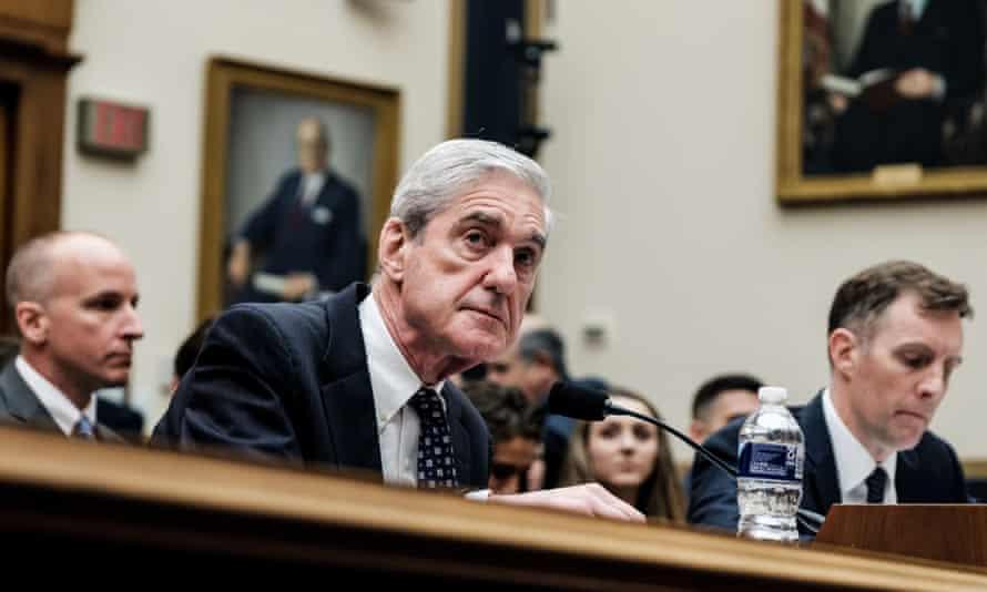 Robert Mueller testifies on Capitol Hill in Washington this week.