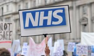 Junior doctors protest in London, October 2015
