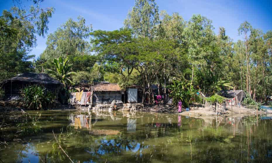 Kutubdia island in the Bay of Bengal