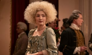 Deliciously monstrous … Lesley Manville in Harlots.