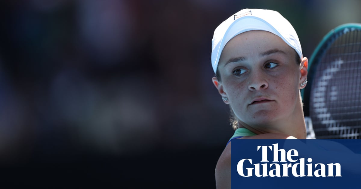 Spotlight intensifies but semi-finalist Ashleigh Barty remains grounded