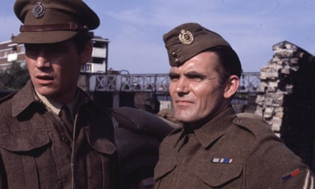 Maurice Roëves. right, with Anthony Andrews in Danger UXB, 1979.