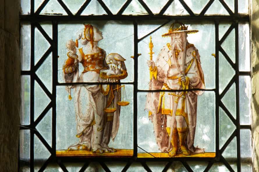Madingley church's early Tudor stained glass