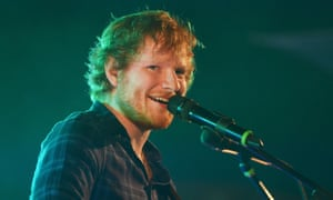 Ed Sheeran is the most streamed artist so far this year