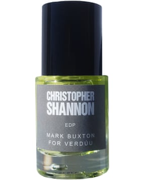 Christopher Shannon's Verdúu perfume: a heady cocktail.