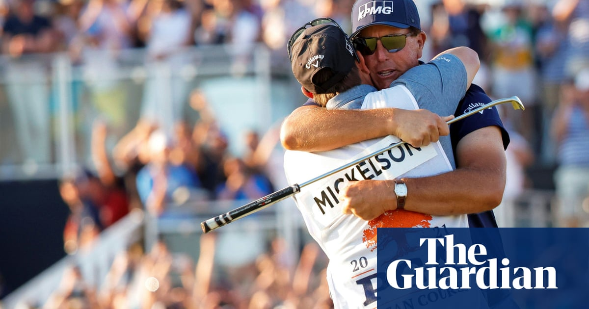 Phil Mickelson's glory at 50 made possible by dedication and belief