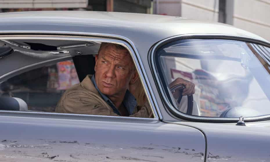 'Like a road-rage incident waiting to happen': Daniel Craig in No Time to Die.