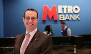 Craig Donaldson, chief executive of Metro Bank.