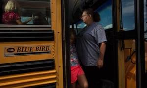 Metasha Olson: 'The teacher shouldn't have to drive a bus.'