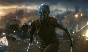 Karen Gillan in Avengers: Endgame.