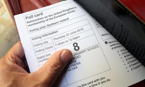 Registering to vote anonymously to be made easier | Politics