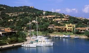 Yachts in the Mediterranean
