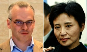 British businessman Neil Heywood and Gu Kailai, the wife of former party chief Bo Xilai.