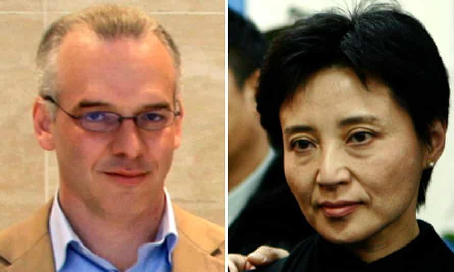 Neil Heywood and Gu Kailai.