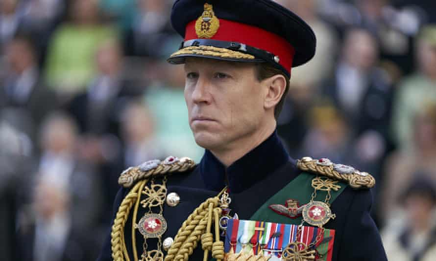 Tobias Menzies as Prince Philip in The Crown