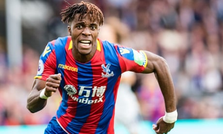 Impressive Wilfried Zaha plays with 'nothing to be scared of' for Palace | Jacob Steinberg