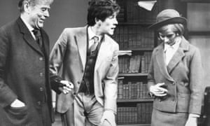 Their Very Own and Golden City by Arnold Wesker, 1966, with, left to right, Sebastian Shaw, Ian McKellen and Ann Firbank.