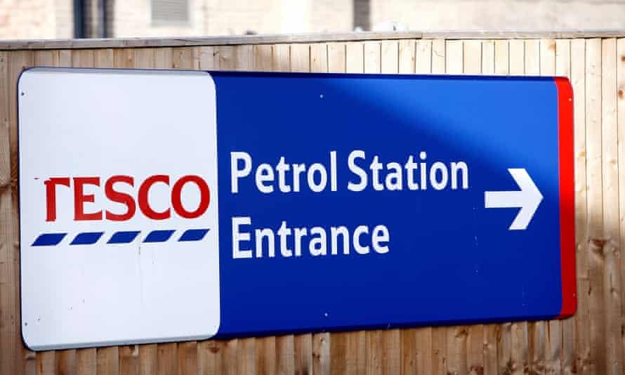 Tesco petrol station