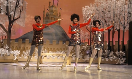 The Supremes in 1967, who played with the drag troupe The Jewel Box Revue.