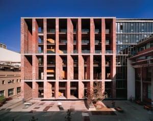 The medical school at the Universidad Católica de Chile Santiago.