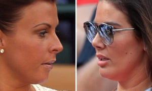 Coleen Rooney (left) who has accused Rebekah Vardy (right) of selling stories from her private Instagram account to the Sun.
