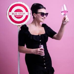 Gizzi Erskine Hair and makeup: Juliana Sergot using Lancôme and Tigi Gin in a tin Observer Food Monthly Taste Test OFM