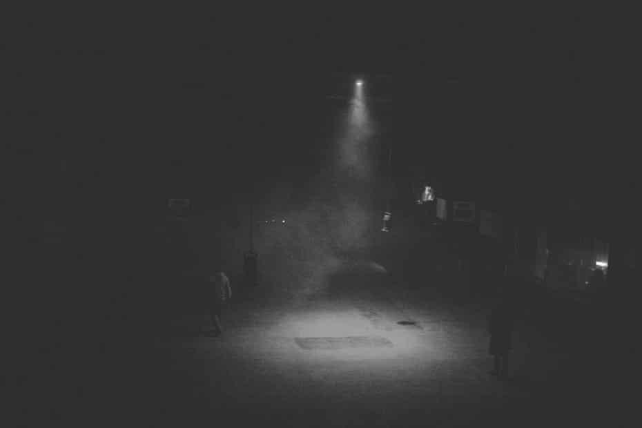 The dark corners at Bassiani.