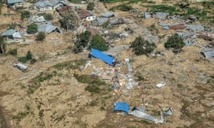 Parts of Palu have been completely destroyed.