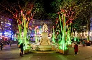 Garden of Light by TILT, Leicester Square